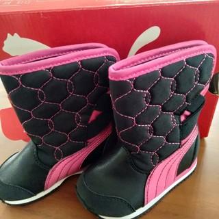 プーマ(PUMA)の12cm PUMA プーマ 防寒ブーツ キッズ ベビー 新品タグ付き(ブーツ)
