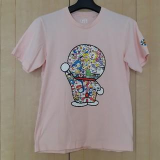 ユニクロ(UNIQLO)のUNIQLO ドラえもん 村上隆 Tシャツ XS ピンク UT ユニクロ(Tシャツ/カットソー(半袖/袖なし))