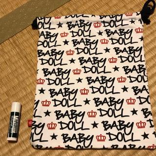 ベビードール(BABYDOLL)のベビードールの巾着袋(ポーチ)