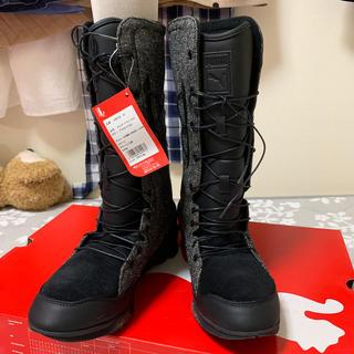 プーマ(PUMA)の新品 PUMA ブーツ 黒 24.5(ブーツ)