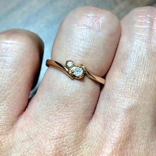 ヨンドシー(4℃)のダイヤリング 4℃(リング(指輪))