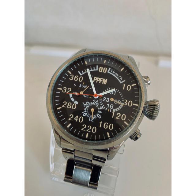 PPFM - 【美品】PPFM クロノグラフタイプ 腕時計 ペイトンプレイスの通販 by K's shop|ピーピーエフエムならラクマ