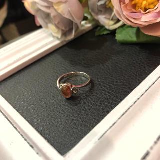 【vintage】シルバー925 カラーストーン リング パープル レディース(リング(指輪))