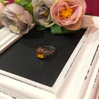 【vintage】コスチュームジュエリー リング レディース カラーストーン(リング(指輪))