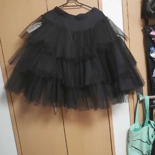 アリスアウアア(alice auaa)のアリスアウアアチュールスカート(ひざ丈スカート)