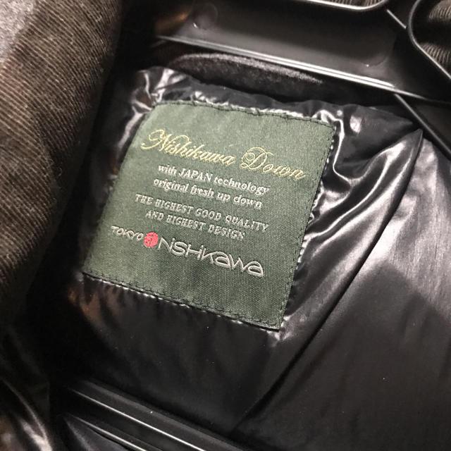 nano universe × Nishikawa ダウンジャケット メンズのジャケット/アウター(ダウンジャケット)の商品写真