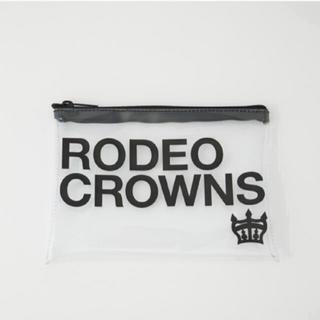 ロデオクラウンズワイドボウル(RODEO CROWNS WIDE BOWL)のロデオクラウンズ   クリアポーチ(ポーチ)