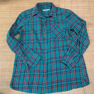 ロデオクラウンズワイドボウル(RODEO CROWNS WIDE BOWL)のチェックシャツ(シャツ/ブラウス(長袖/七分))