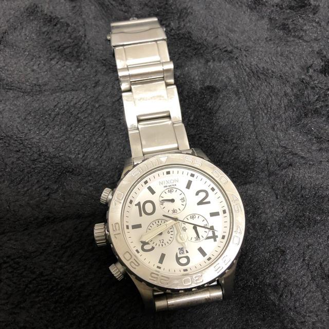 NIXON - NIXON ニクソン メンズウォッチ 腕時計 42-20 CHRONO クロノの通販 by humble brag|ニクソンならラクマ