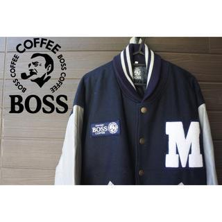 ボス(BOSS)のSUNTORY boss スタジャン ジャケット ビッグシルエット(ブルゾン)