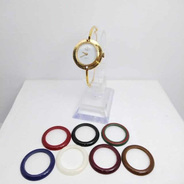 Gucci - GUCCI 腕時計 チェンジベゼル 稼働中 7リング t×1121の通販 by ティファ's shop|グッチならラクマ