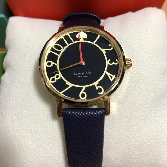 kate spade new york - Kate spade NEW YORK 腕時計 ネイビー 【電池要交換】の通販 by アトム's shop|ケイトスペードニューヨークならラクマ