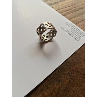 トゥモローランド(TOMORROWLAND)のシルバー925 インディアンジュエリー 指輪 9号(リング(指輪))