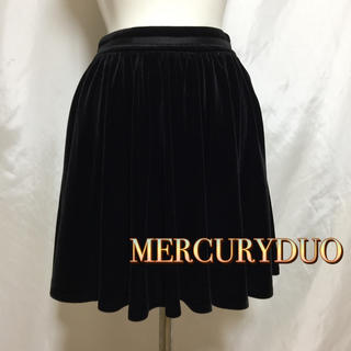 マーキュリーデュオ(MERCURYDUO)のマーキュリーデュオ コーデュロイスカート(ミニスカート)