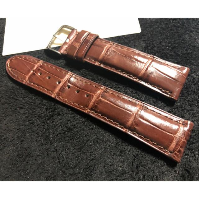 両面クロコ 時計ベルト ラグ20mmの通販 by igaiga e |ラクマ