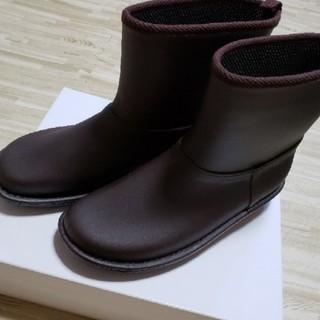レインシューズ  ブラウン LL(レインブーツ/長靴)