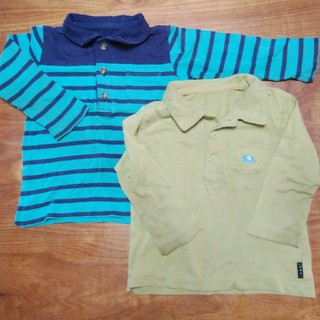 ベルメゾン(ベルメゾン)のベルメゾン ポロシャツセット80(シャツ/カットソー)