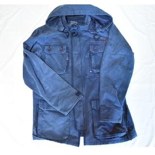 ステューシー(STUSSY)のSTUSSY ステューシー ミリタリー ジャケット M-65 Lサイズ フード付(ミリタリージャケット)