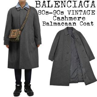 バレンシアガ(Balenciaga)の希少★BALENCIAGA★バレンシアガ★ビッグ カーコート★ステンカラーコート(ステンカラーコート)