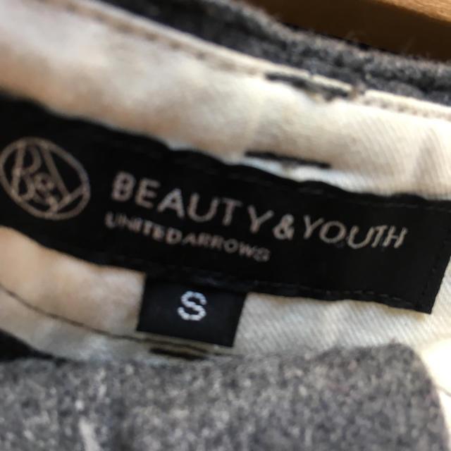 BEAUTY&YOUTH UNITED ARROWS(ビューティアンドユースユナイテッドアローズ)のダークグレー ショートパンツ レディースのパンツ(ショートパンツ)の商品写真