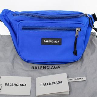 バレンシアガ(Balenciaga)の新品 2019SS BALENCIAGA エクスプローラー ベルトバッグ 青(ボディーバッグ)