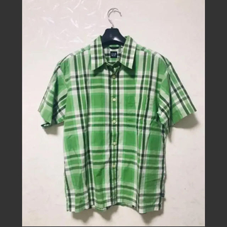 ギャップ(GAP)の半袖 チェック シャツ GAP(シャツ/ブラウス(半袖/袖なし))