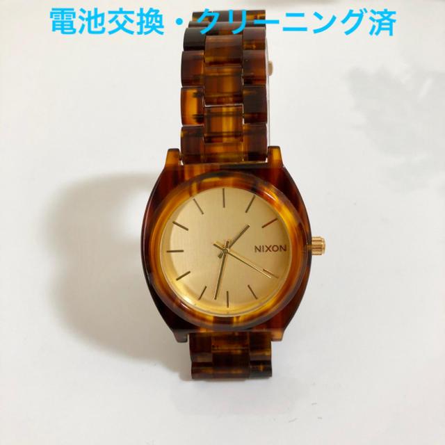 NIXON - ☆ NIXON べっ甲調 腕時計 ☆の通販 by b-m shop|ニクソンならラクマ