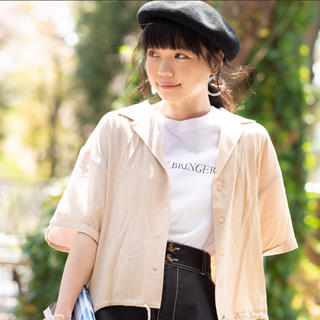 ウィゴー(WEGO)のWEGO ロールアップアロハシャツ(シャツ/ブラウス(半袖/袖なし))