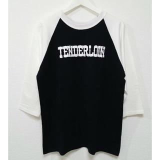 テンダーロイン(TENDERLOIN)のテンダーロイン 七分袖 ロゴ ラグラン(Tシャツ/カットソー(七分/長袖))