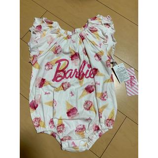 バービー(Barbie)の【 70 】 バービー Barbie ロンパース アイスクリーム(ロンパース)