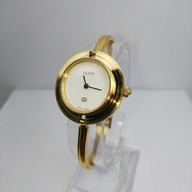 Gucci - GUCCI 腕時計 チェンジベゼル 稼働中 t109の通販 by ティファ's shop|グッチならラクマ
