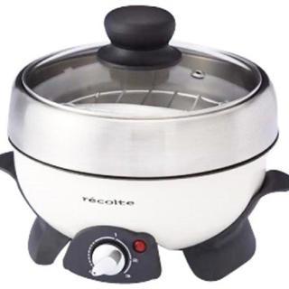 アフタヌーンティー(AfternoonTea)の電気式マルチクッカー recolte pot duo(調理機器)