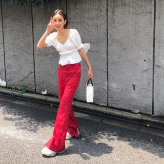 ルシェルブルー(LE CIEL BLEU)の韓国服  トップス  (シャツ/ブラウス(半袖/袖なし))