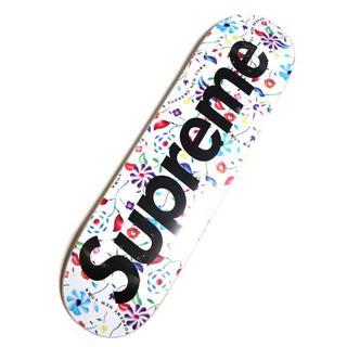 シュプリーム(Supreme)のSupreme Airbrushed Floral Skateboard 白(スケートボード)