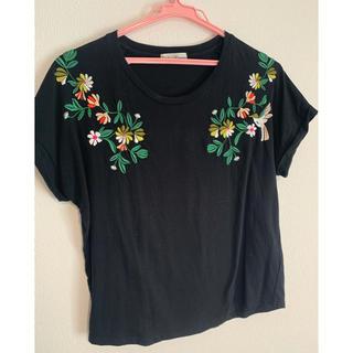 アーバンリサーチ(URBAN RESEARCH)のURBAN RESEACH 配色刺繍Tシャツ(Tシャツ(半袖/袖なし))