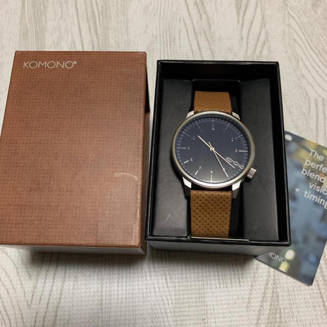 【新品】KOMONO コモノ 腕時計 WINSTONの通販 by RON's shop|ラクマ