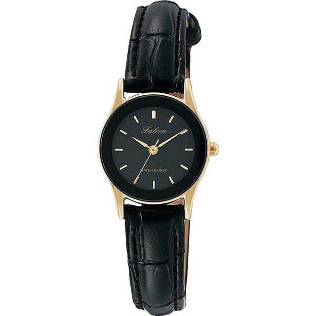 17.シチズン 腕時計 アナログ  生活防水 革ベルト ブラックの通販 by るんるん's shop|ラクマ