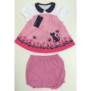 新品 ANNA SUI mini チュニック&パンツ セットアップ 半袖 ネコ
