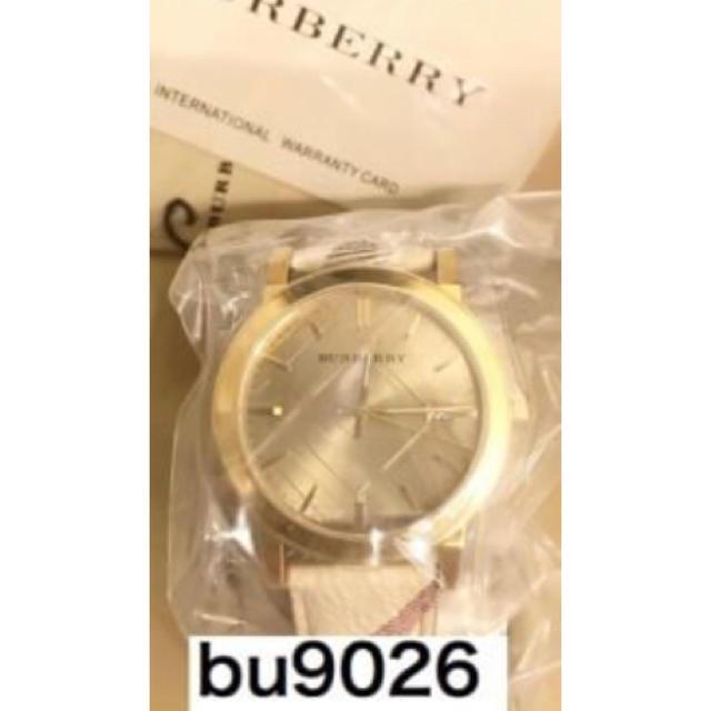 BURBERRY - バーバリー  腕時計 bu9026 正規品の通販 by ありがとう's shop|バーバリーならラクマ