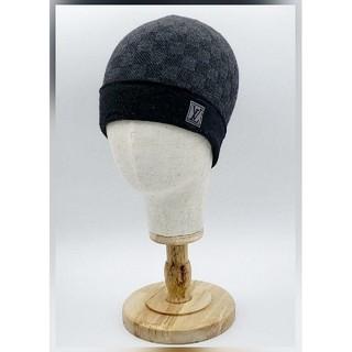 ルイヴィトン(LOUIS VUITTON)の◇ルイヴィトン・ニット帽◆箱つき◇(ニット帽/ビーニー)