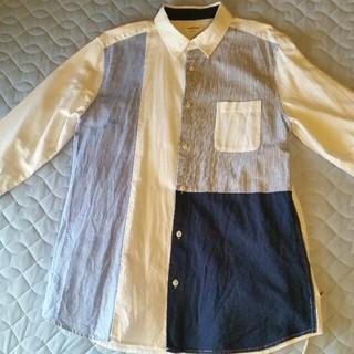 しまむら - しまむら 七分袖シャツ (LLサイズ)