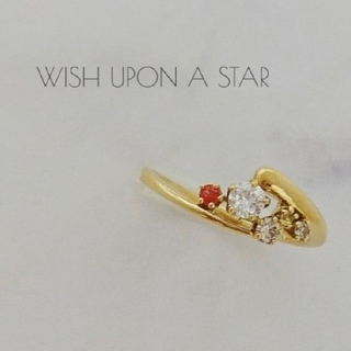 Wish upon a star/ダイヤ/サファイア/K18/リング(リング(指輪))