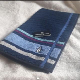 マンシングウェア(Munsingwear)の最終お値下げ✨マンシング タオルハンカチ(ハンカチ/ポケットチーフ)