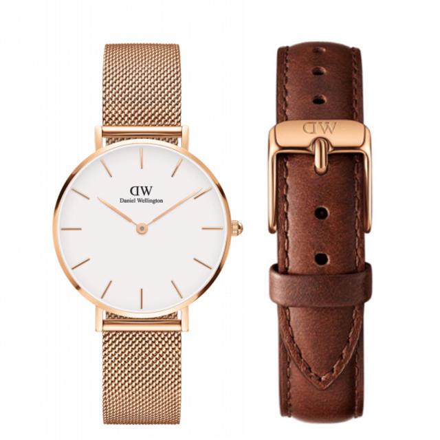 Daniel Wellington - 【32㎜】ダニエル ウェリントン腕時計 DW163+ベルトSET《3年保証付》 の通販 by wdw6260|ダニエルウェリントンならラクマ