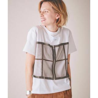 アメリヴィンテージ(Ameri VINTAGE)のAmeri VINTAGE美品MY UNION TEEアメリ 限定色カーキ(Tシャツ(半袖/袖なし))