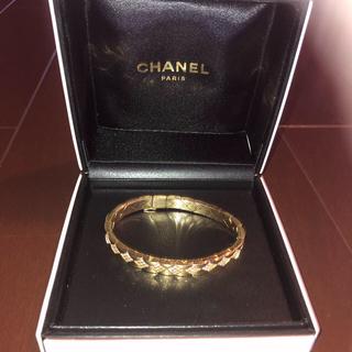シャネル(CHANEL)のシャネル 純正 ダイヤ ブレスレット マトラッセ (ブレスレット/バングル)
