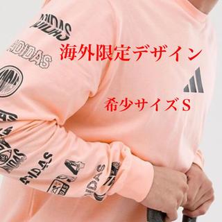 アディダス(adidas)の海外限定 adidas アディダス ロンT バックプリント UK Sサイズ(Tシャツ(長袖/七分))