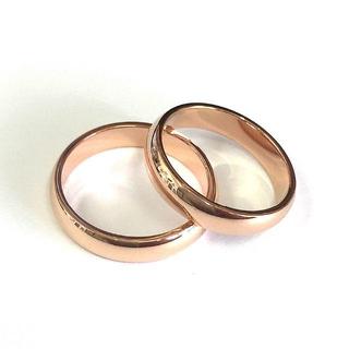 382 オススメ チタンステンレス シンプルリング2個(リング(指輪))