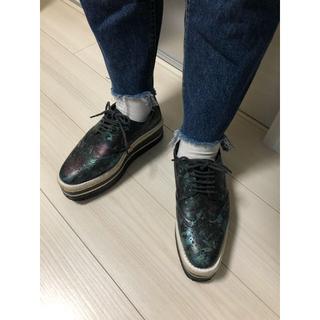 ジュエティ(jouetie)のjouetie ジュートソールウィングチップ(ローファー/革靴)