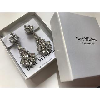 ヴェラウォン(Vera Wang)の【あ様専用】Best wishes ブライダル イヤリング (イヤリング)